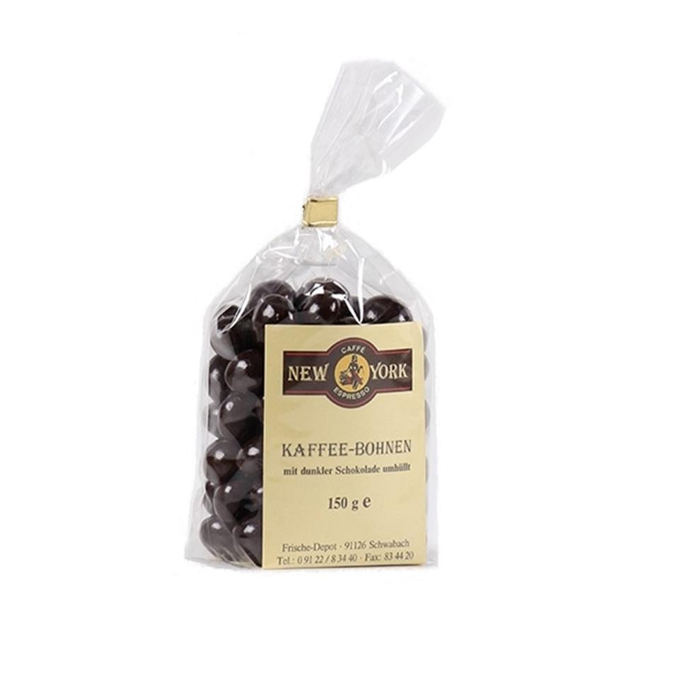CAFFÈ NEW YORK KAFFEEBOHNEN IN ZARTBITTERSCHOKOLADE
