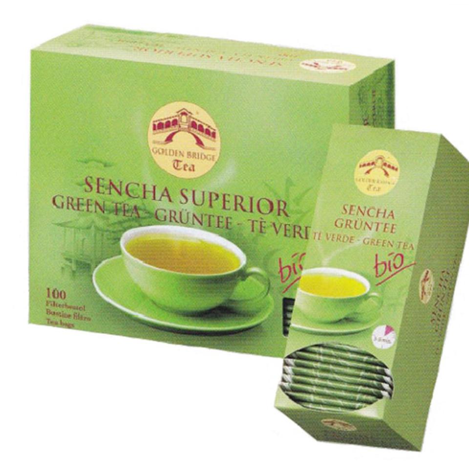 GOLDEN BRIDGE TEA CLASSIC SENCHA SUPERIOR BIO