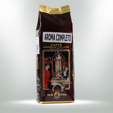 CAFFÈ NEW YORK AROMA COMPLETO, 250G, 80% Arabica, 20% Robusta