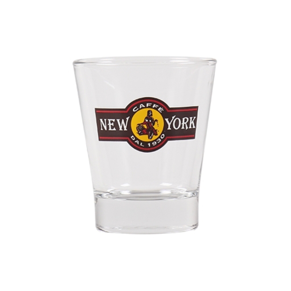 CAFFÈ NEW YORK ESPRESSOGLAS mit Café New York