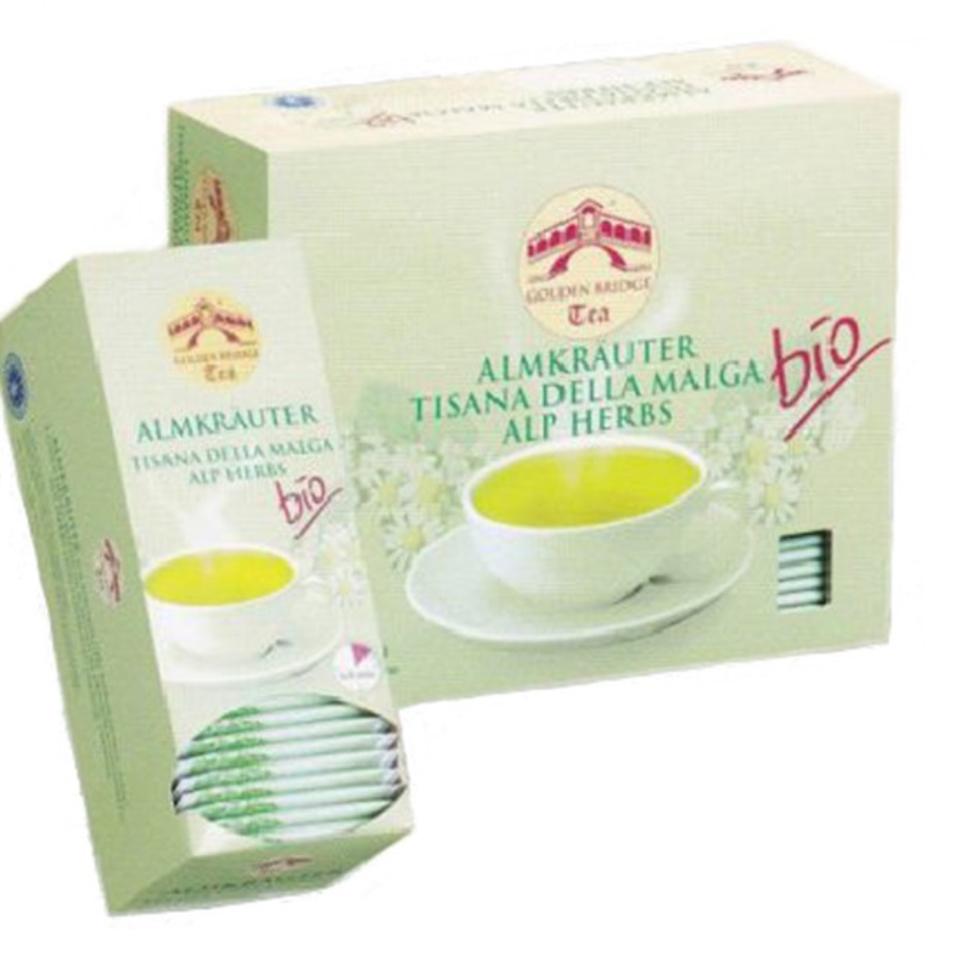 GOLDEN BRIDGE TEA CLASSIC ALMKRÄUTER BIO
