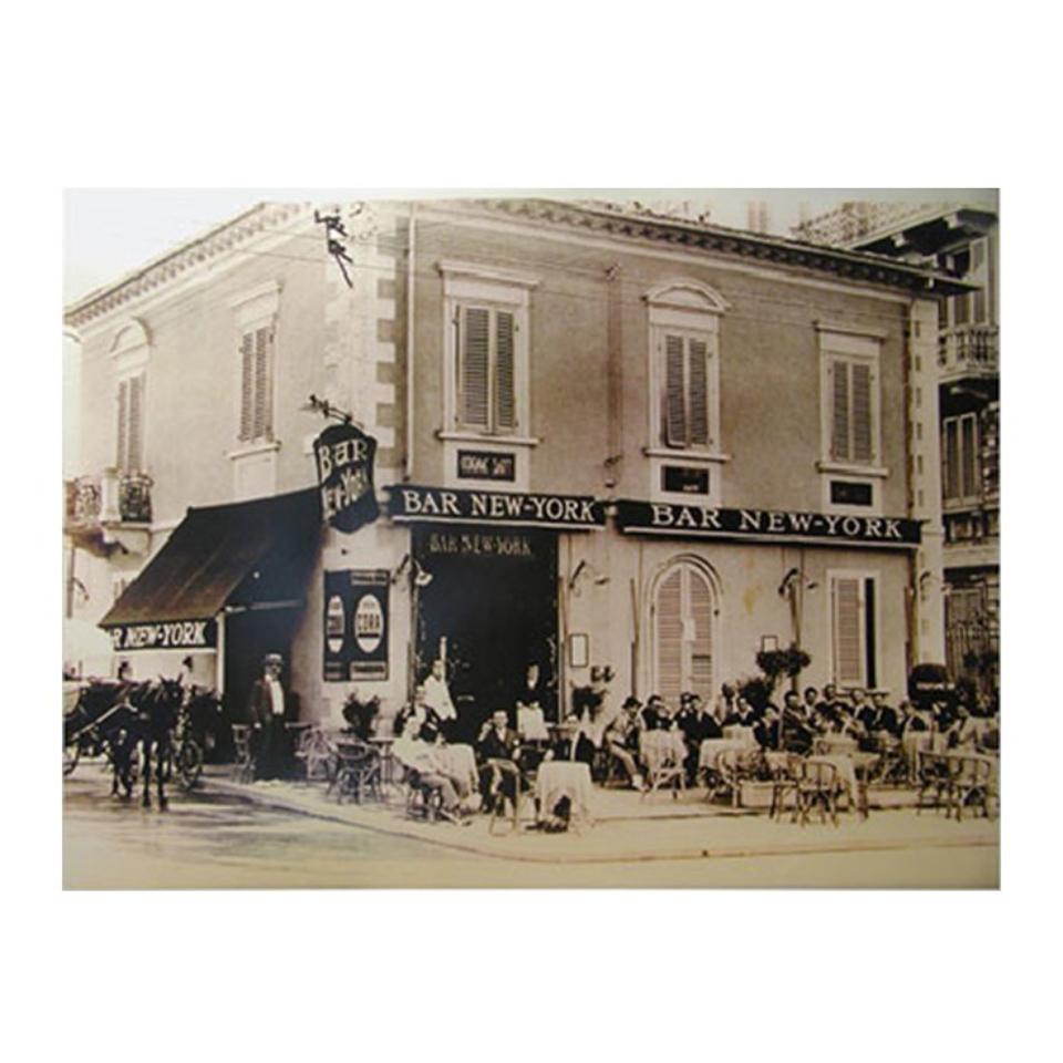 CAFFÈ NEW YORK POSTER BAR