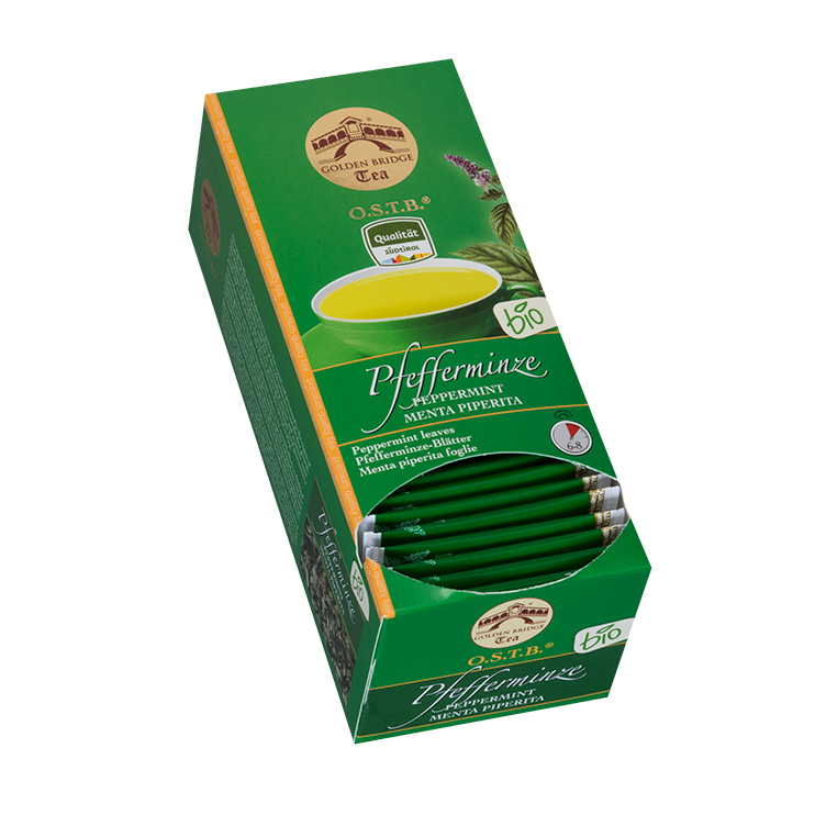 GOLDEN BRIDGE TEA BIO PFEFFERMINZE