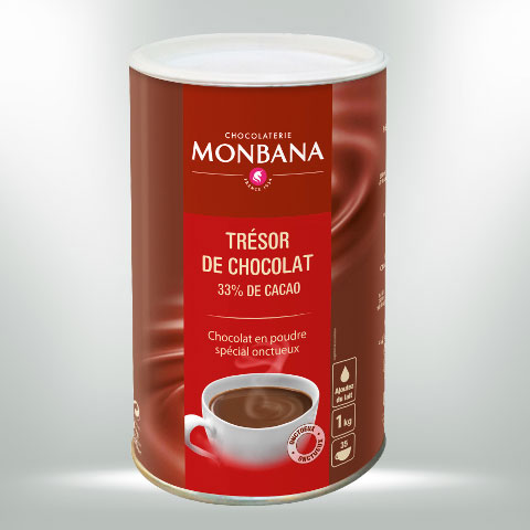 MONBANA TRINKSCHOKOLADE TRESOR DE CHOCOLAT