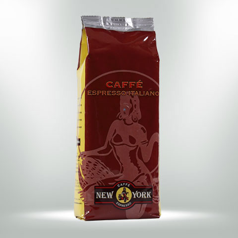 CAFFÈ NEW YORK EXTRA BAR, 500G,  60% Arabica, 40% Robusta