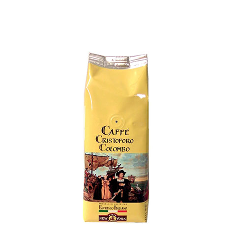 CAFFÈ NEW YORK CRISTOFORO COLOMBO, 500G, 80% Arabica, 20% Robusta