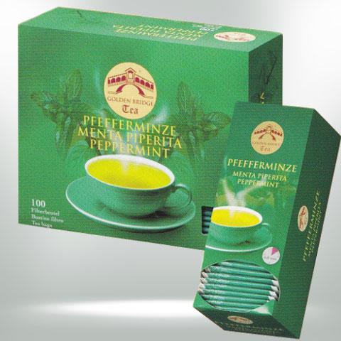 GOLDEN BRIDGE TEA CLASSIC PFEFFERMINZE BIO
