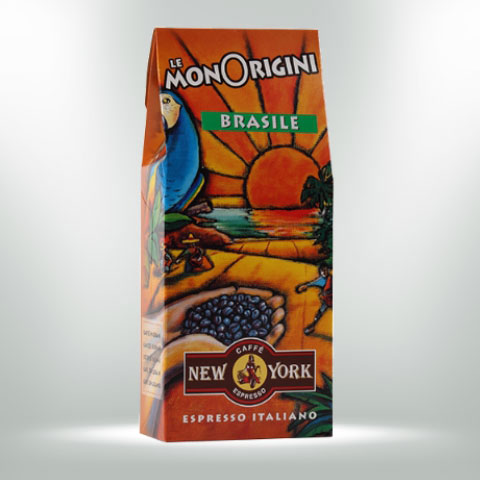 Caffe New York Brasilien, 250G 100% Arabica