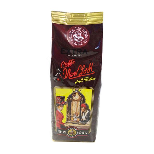 """CAFFÈ NEW YORK EXTRA, 250G, Mischung verschiedener hochwertiger Kaffeesorten mit   Jamaica """"Blue Mountain"""""""