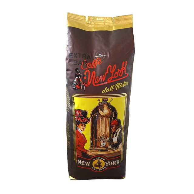 CAFFÈ NEW YORK EXTRA BAR, 1KG,  60% Arabica 40% Robusta