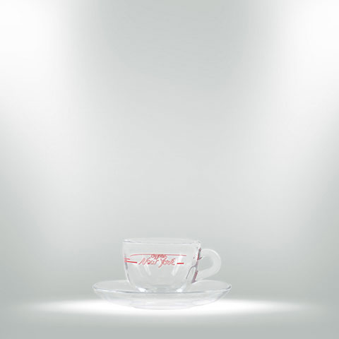 CAFFÈ NEW YORK GLAS - ESPRESSOTASSE