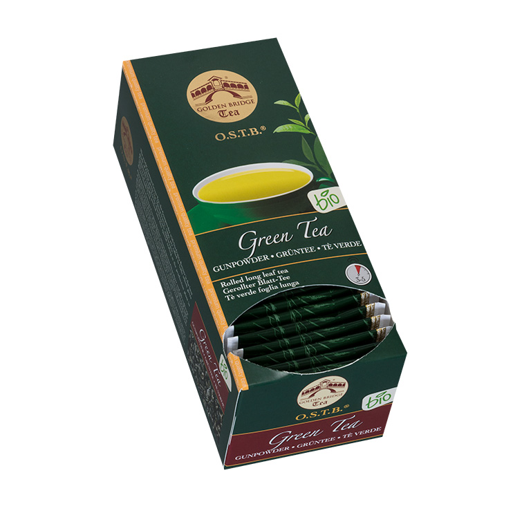 GOLDEN BRIDGE TEA BIO GUNPOWDER GREEN
