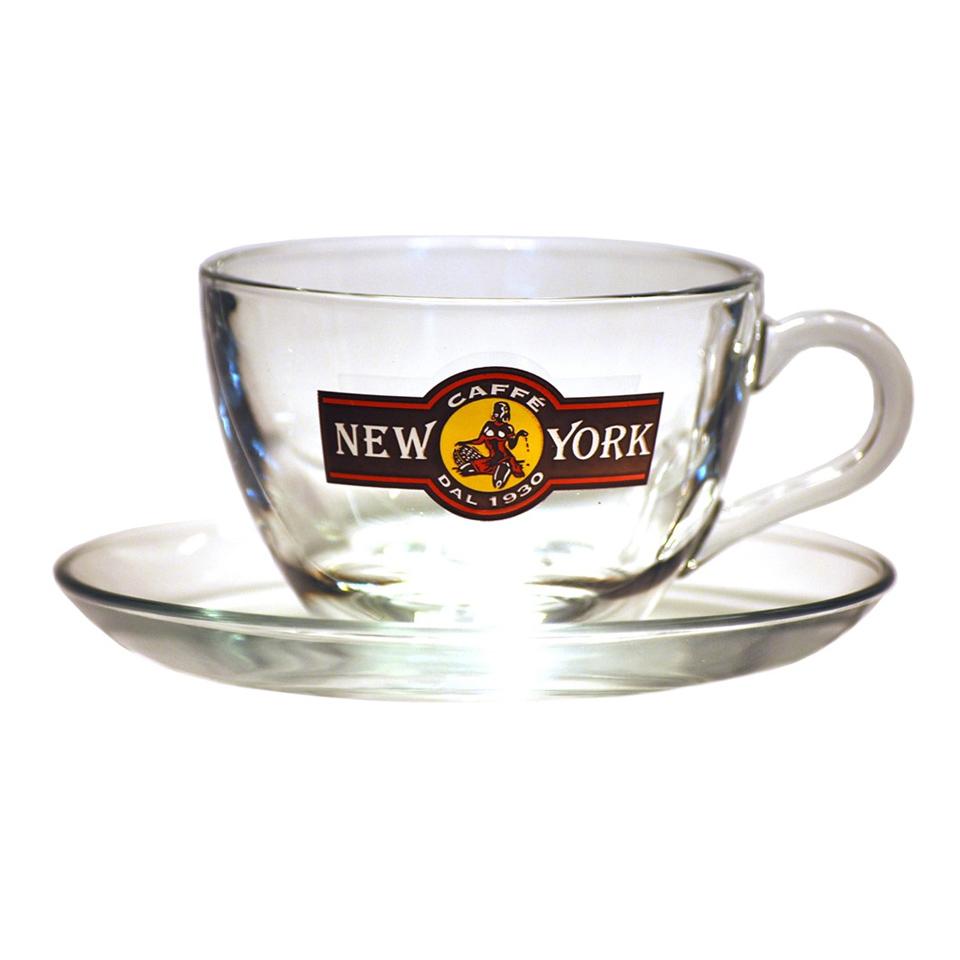 CAFFÈ NEW YORK GLAS - CAPPUCCINOTASSE