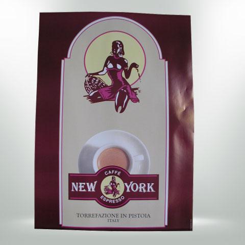 CAFFÈ NEW YORK POSTER DAME