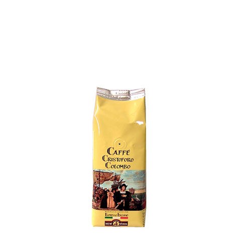 CAFFÈ  NEW YORK CRISTOFORO COLOMBO, 250G 80% Arabica, 20% Robusta